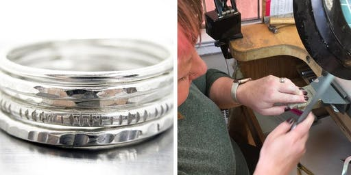 Make Your Own Silver Stacking Rings - Jewelry Workshop