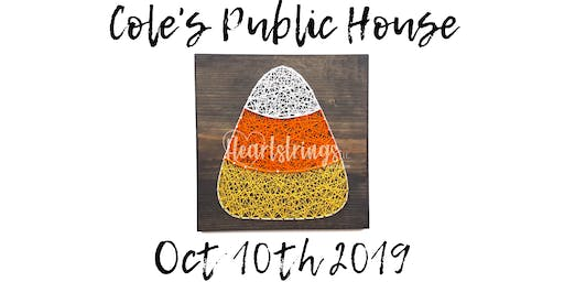 Candy Corn String Art Workshop