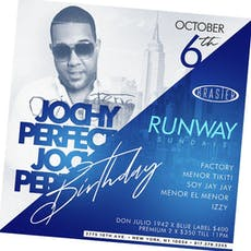 Runway Sundays @Brasier.nyc ~ DJs Factory + Menor Tikiti + Soy Jay Jay + Menor El Mejor + Izzy tickets