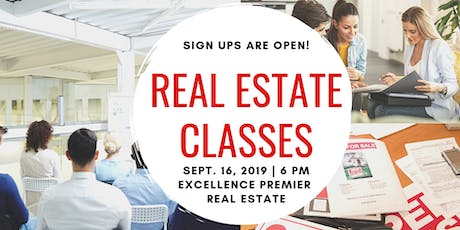 Increase your income-Real Estate Classes tickets