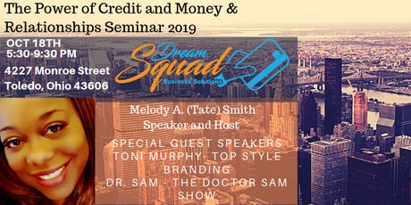 The Power of Credit and Money and Relationships Seminar 2019 tickets