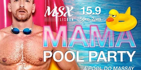 MAMA Pool Party bilhetes