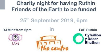 Charity party for Ruthin Friends of the Earth