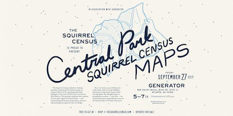 Central Park Squirrel Census Maps tickets