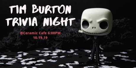Tim Burton Trivia and Paint Night tickets