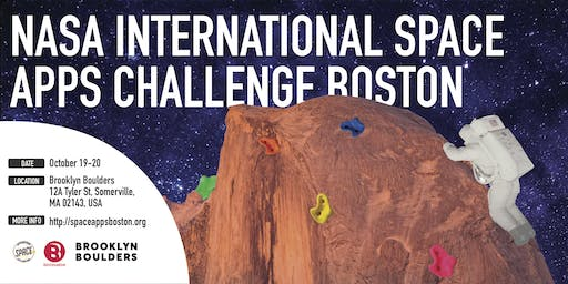 NASA International Space Apps Challenge 2019 Boston