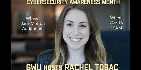 Cybersecurity Month DC Keynote tickets