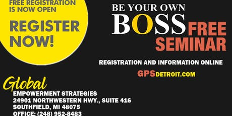 Michigan Business Networking and Seminar. Hosted By: GPSDetroit.com tickets