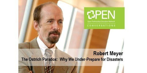 OPEN Aresty Speaker:  Robert Meyer of The Ostrich Paradox