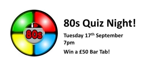 Back to the 80s Quiz!