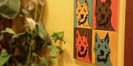 Pop Art Your Pet- Bright or Earth tone tickets