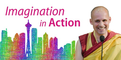 Imagination in Action - with Visiting Teacher Gen-la Kelsang Jampa