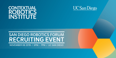 "UC San Diego Contextual Robotics ""Speed-Dating Style"" Recruitment Event"