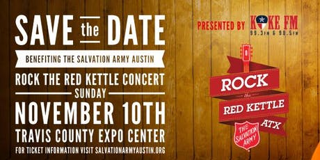 Rock the Red Kettle ATX tickets