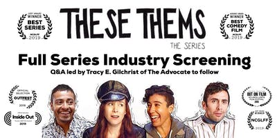 """These Thems"" Season 1 screening at Downtown Independent in DTLA"