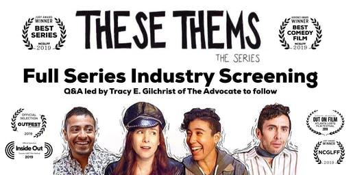"""""""These Thems"""" Season 1 screening at Downtown Independent in DTLA"""