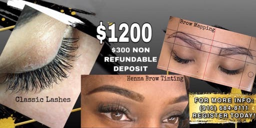 lash & Brow Henna Certification