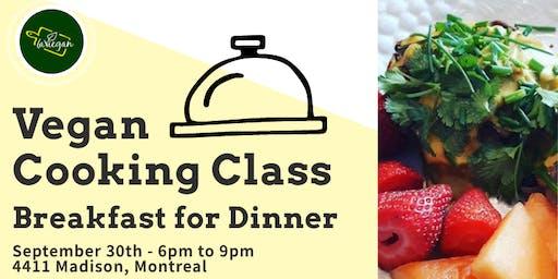 Vegan Cooking Class - Breakfast for Dinner