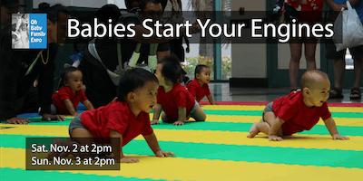 Baby Crawling Contest (SAT. Nov. 2 at 2pm / SUN. Nov. 3 at 2pm)