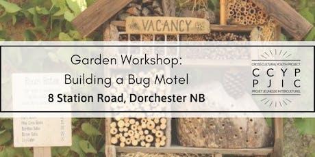 Garden Workshop: Building a Bug Hotel tickets