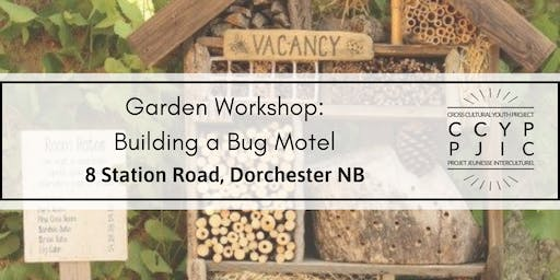 Garden Workshop: Building a Bug Hotel