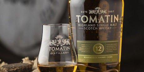 Seven Grand Whiskey Society ft. Tomatin Highland Malts w/ Scott Fraser tickets