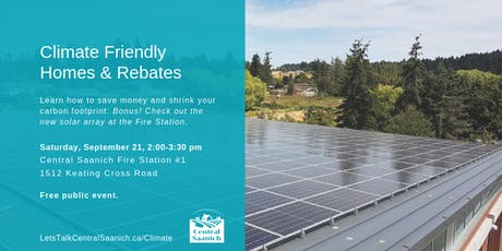 Climate Friendly Homes and Rebates tickets