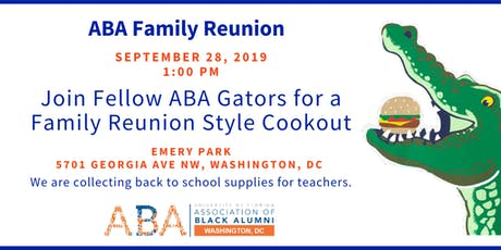 ABA DC Family Reunion Cookout tickets