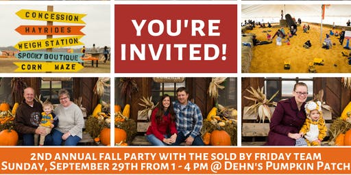 2nd Annual Fall Party with The SOLD By Friday Team