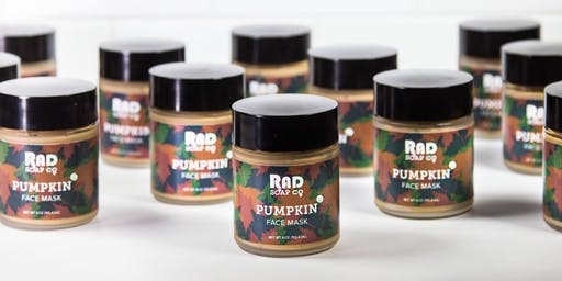 RAD Soap Co's Pumpkin Mask Release Party!