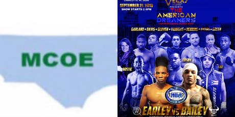 MCOE Ticket Link Vegas Grand Pro Boxing Event 9/21/19 tickets