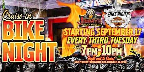 KCHD Bike Night at Jimmy's Tequila & Carnes!  tickets