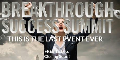 Free Breakthrough Success Summit tickets