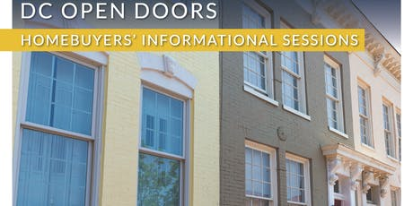 DC Open Doors Homebuyers' Seminar with First Home Mortgage tickets
