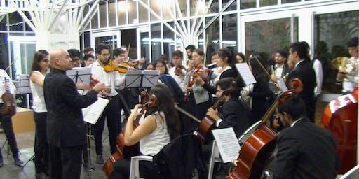 Presentación de la Orquesta Aeropuertos Argentina 2000 en el Museo Sívori