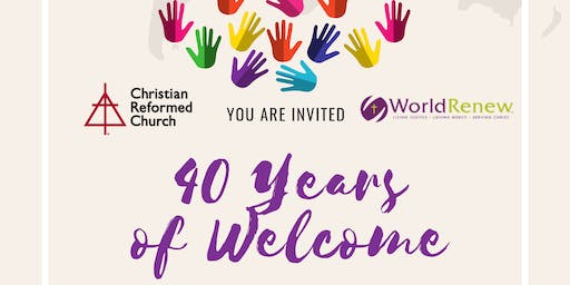 40 Years of Welcome
