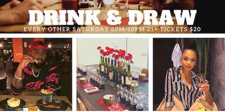 Bonnie's Drink & Draw tickets