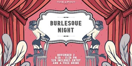 Burlesque Night tickets