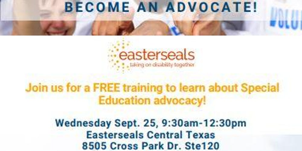 The Role Of Special Education Advocate >> Special Education Advocacy Tickets Wed Sep 25 2019 At 9