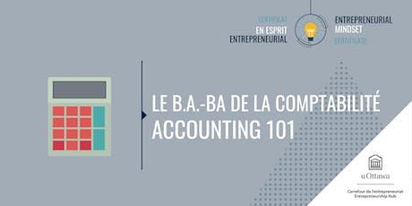 CEE: Le b.a.-ba de la comptabilité | EMC: Accounting 101 tickets