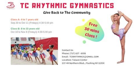 FREE Rhythmic Gymnastics Class (4-7 years old) tickets