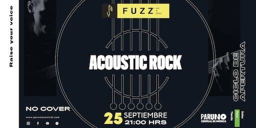 Acoustic Rock Concierto | Fuzz Academy