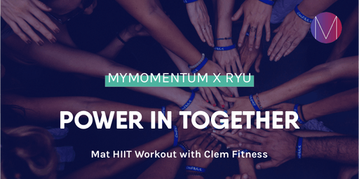 Mat HIIT workout   myMomentum x RYU with Clem Fitness