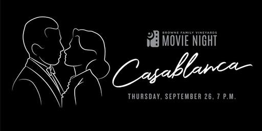 Movie Night! Casablanca