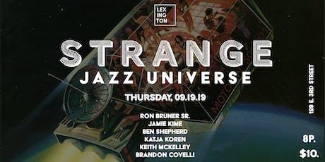 Strange Jazz Universe tickets