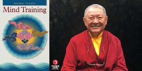 Changing Hands presents Ringu Tulku Rinpoche: Mind Training tickets