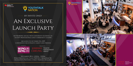 YouthTalkNation Exclusive Launch Party tickets