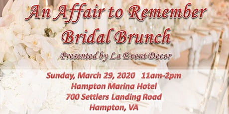 An Affair to Remember Bridal Brunch tickets