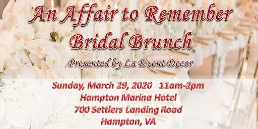 An Affair to Remember Bridal Brunch