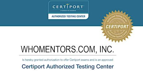 self.TaughtCoder: iPhone iOS / Swift / Objective-C + Level 1 Certiport Exam tickets